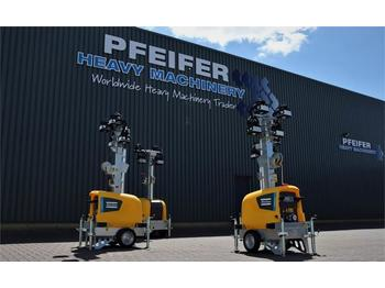 Atlas Copco Highlight E3+ New, Max Boom Height 7m, 10 Lux, Lig  - rasvjetni stup